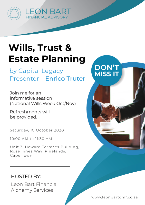 Wills, Trust & Estate Planning Event